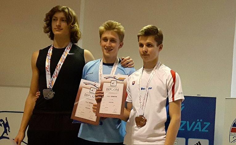 Oliver Murcko na šampionáte získal striebornú medailu