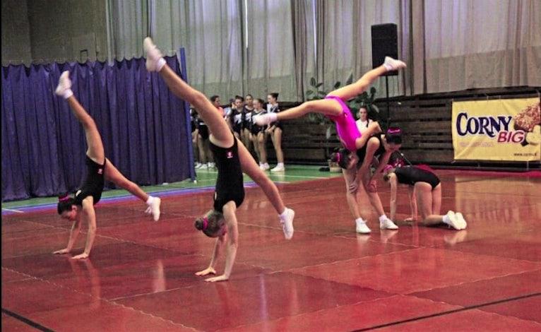Oznam klubu športovej gymnastiky