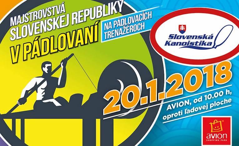 Majstrovstvá Slovenska v ťahaní na trenažéroch 2018